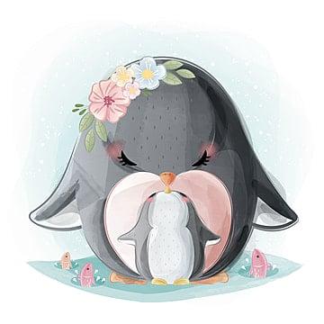 King Penguin Clipart Baby Penguin - Penguin Profile - Png Download  (#4242496) - PinClipart