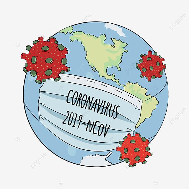 ncov danger coronavirus health earth human epidemic pneumonia virus vector illustration