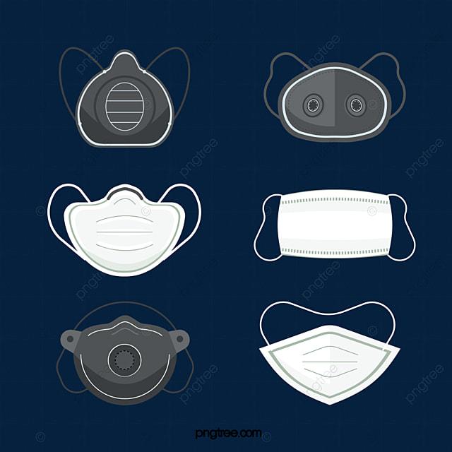 flat style medical mask