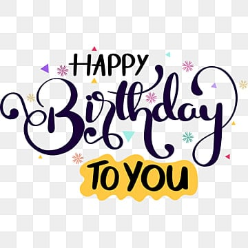 Birthday Png Images Vector And Psd Files Free Download On Pngtree