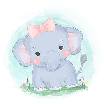 Elephant Watercolor Png Images Vector And Psd Files Free Download On Pngtree Elephant, little elephant, gray elephant illustration, mammal, carnivoran png. elephant watercolor png images vector