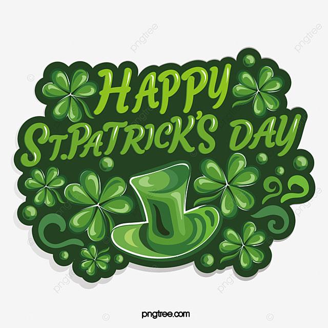 vintage irish st patrick s day shamrock sticker