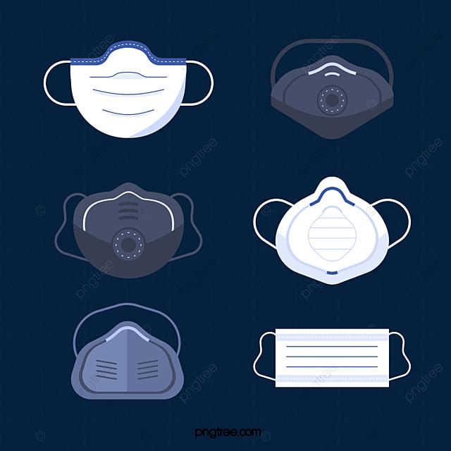 medical equipment mask illustration