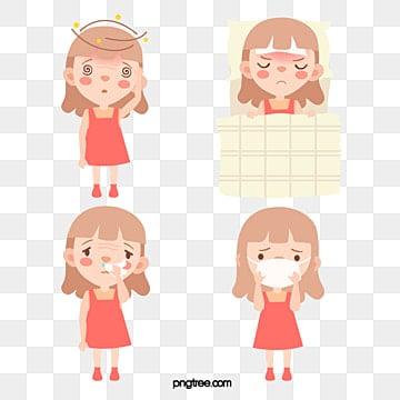 Dolor de cabeza en la parte superior de la cabeza con gripe