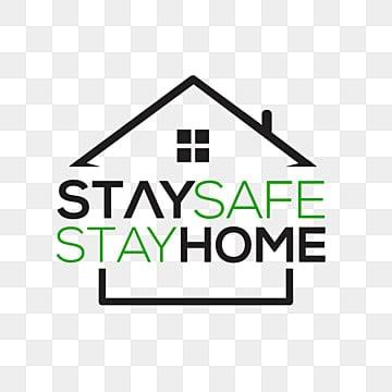 оставаться в безопасности и оставаться дома иллюстрация, Карантин, вирус, Дом PNG ресурс рисунок и векторное изображение