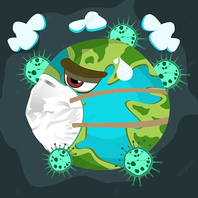 Gambar Ilustrasi Bumi Menggunakan Topeng Kerana Ia Dijangkiti Dengan Covid 19 Coronavirus Ikon Bumi Ia Ikon Ikon Png Dan Vektor Untuk Muat Turun Percuma