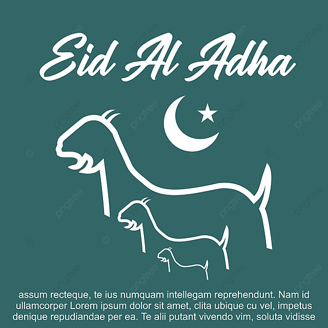 eid al adha vector card illustration culture png and vector with transparent background for free download pngtree