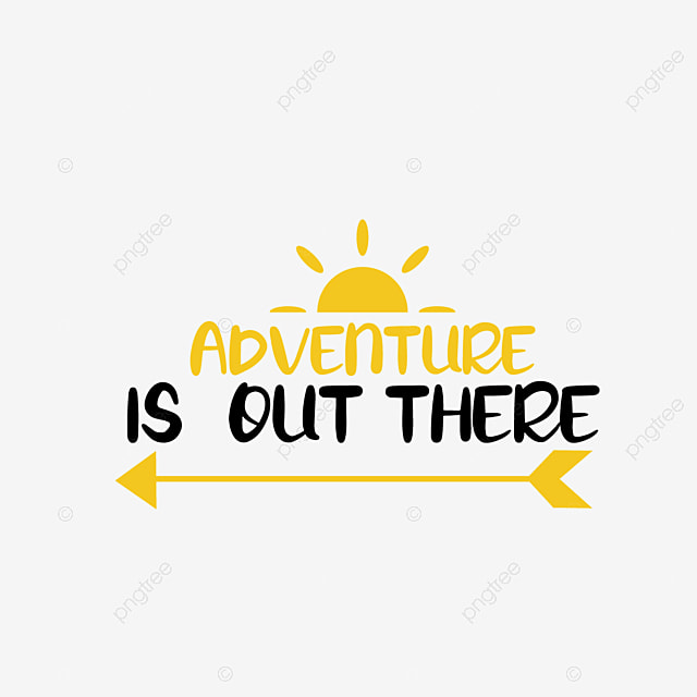 Adventure Is Here Art Word Svg Font Effect Eps For Free Download