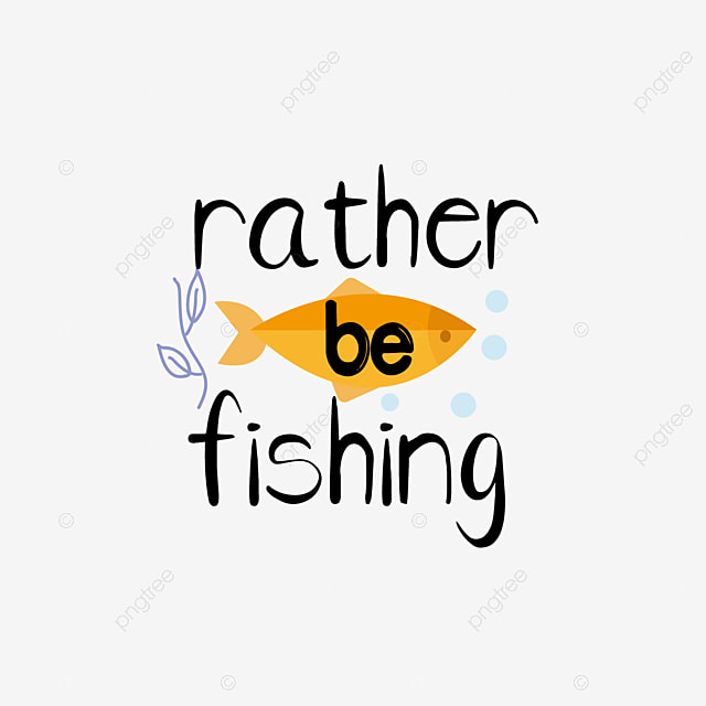 Download Svg Cartoon Black Hand Drawn Fish Illustration Would Rather Go Fishing English Letters Font Effect Eps For Free Download