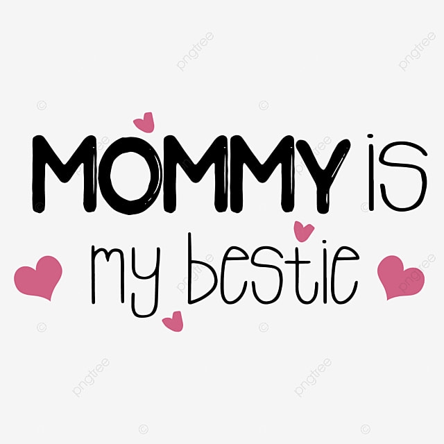 Svg Cartoon Black Hand Drawn Love Illustration Mom Is My Baby English Alphabet Font Effect Eps For Free Download