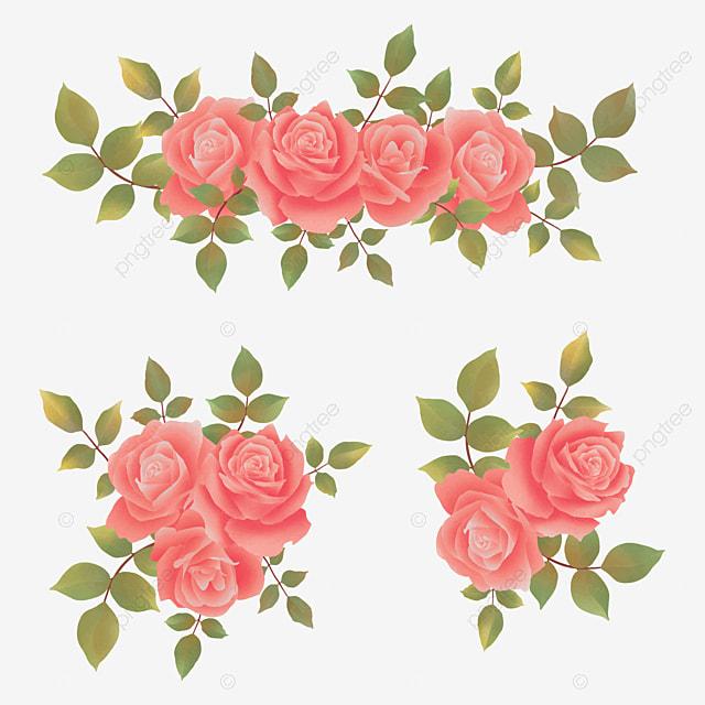 Karangan Bunga Mawar Yang Indah Buket Bunga Daun Png Dan Vektor Dengan Latar Belakang Transparan Untuk Unduh Gratis