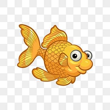 Золотая рыбка мультфильм Золотая рыбка вектор, Рыба клипарт, золотая рыбка, золотая рыбка PNG ресурс рисунок и векторное изображение
