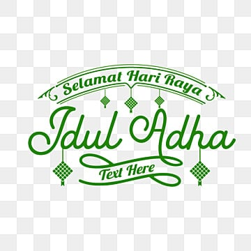 Lettering Gold Idul Adha Adha Eid Al Adha Sheep Png And Vector With Transparent Background For Free Download