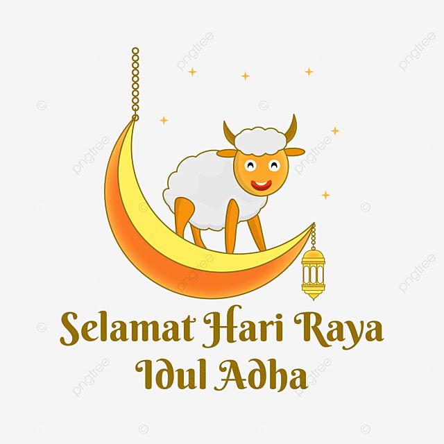 Selamat Hari Raya Idul Adha Perayaan Islami Dengan Kartun Domba Idul Adha Perayaan Islami Selamat Hari Raya Png Dan Vektor Dengan Latar Belakang Transparan Untuk Unduh Gratis