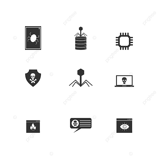 Hacker Icon Flat Design Template Vector Illustration Hack Network Theft Png And Vector With Transparent Background For Free Download