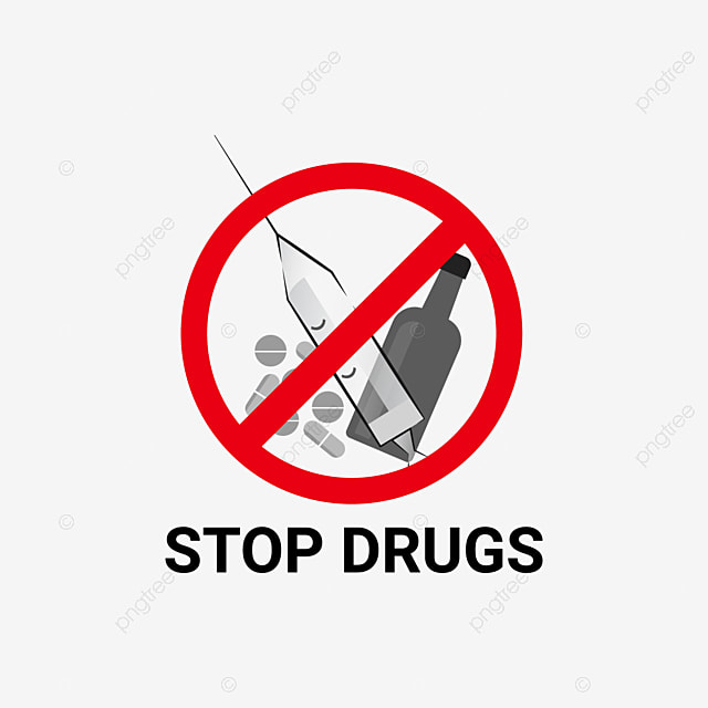 Stop Drugs Save Your Life Stop Drugs Drugs Narcotic Png And Vector With Transparent Background For Free Download
