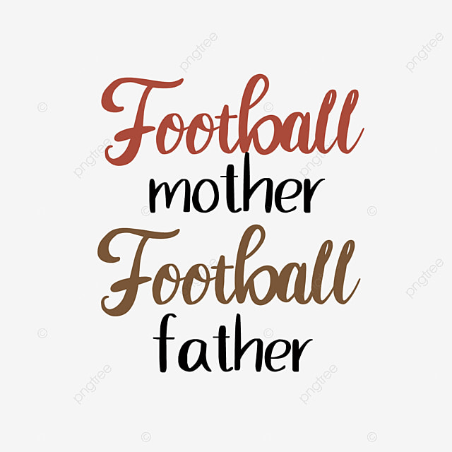 Svg Football Mom Football Dad English Red Illustration Font Effect Eps For Free Download