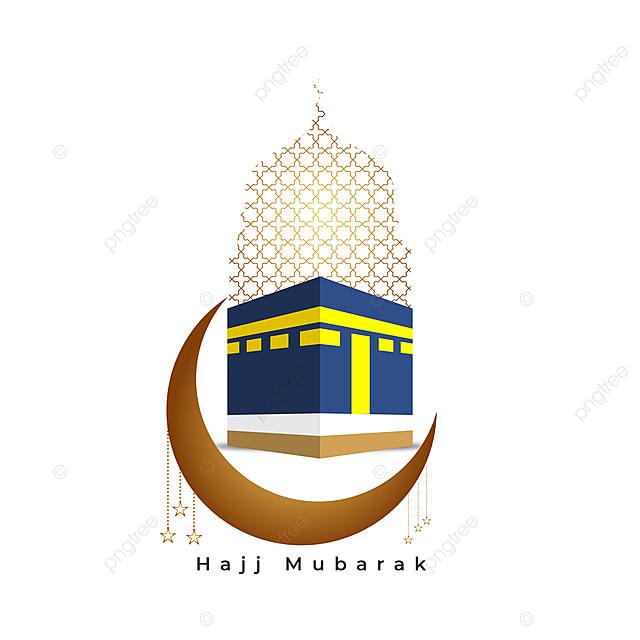 hajj mubarak mabroor kabah hajj greeting hajj hajj mabroor png and vector with transparent background for free download hajj mubarak mabroor kabah hajj