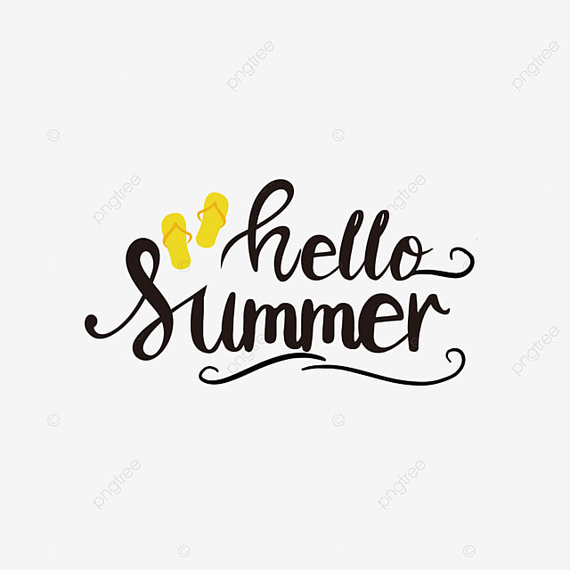 Slippers Simple Frame Monogram Summer Phrase Svg Art Word Font Effect Eps For Free Download