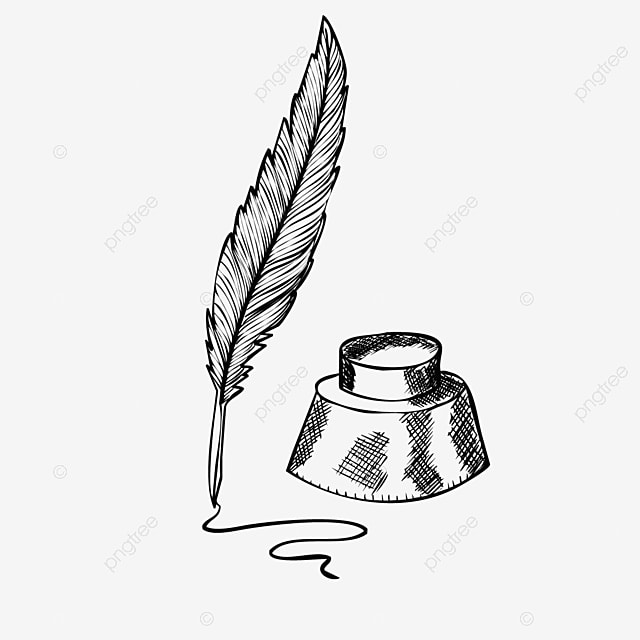 Cartoon Hand Drawn Feather Pen Handwriting Illustration Feather Clipart Handwriting Ink Png And Vector With Transparent Background For Free Download All images and logos are crafted with great workmanship. cartoon hand drawn feather pen