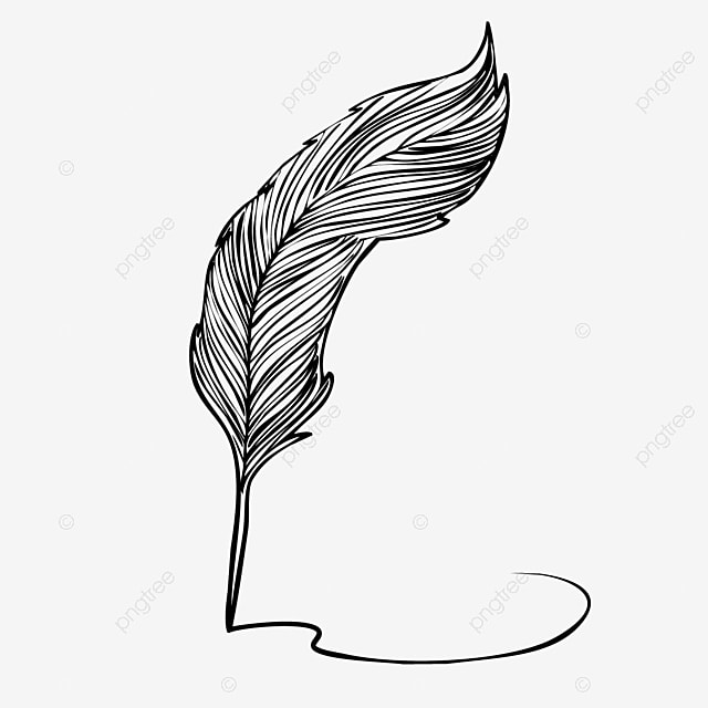 Hand Drawn Cartoon Feather Pen Writing Illustration Write Handwriting Ink Png And Vector With Transparent Background For Free Download Download for free in png, svg, pdf formats 👆. hand drawn cartoon feather pen writing