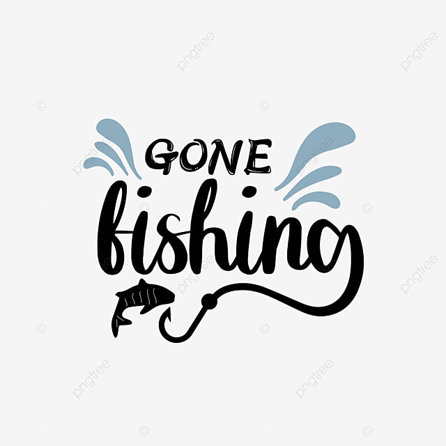 Download Svg Black Go Fishing Hand Drawn Fish Hook Wave Phrase Font Effect Eps For Free Download