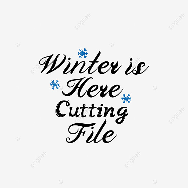 Svg Black Winter Is Coming Snowflake Hand Drawn Illustration Font Effect Eps For Free Download