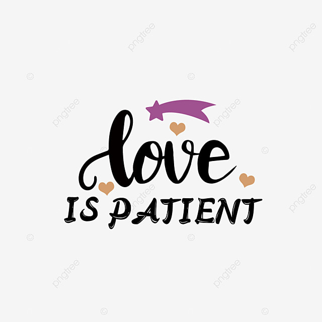 Get Love Is Patient Svg Crafter Files