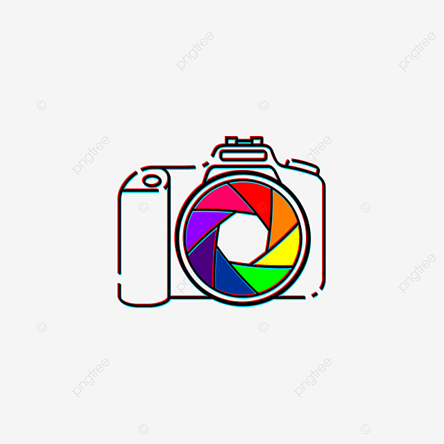 Colorful Lens Capture In Camera Vector Illustration Good Template For Photography Design Photography Photo Dslr Png And Vector With Transparent Background For Free Download