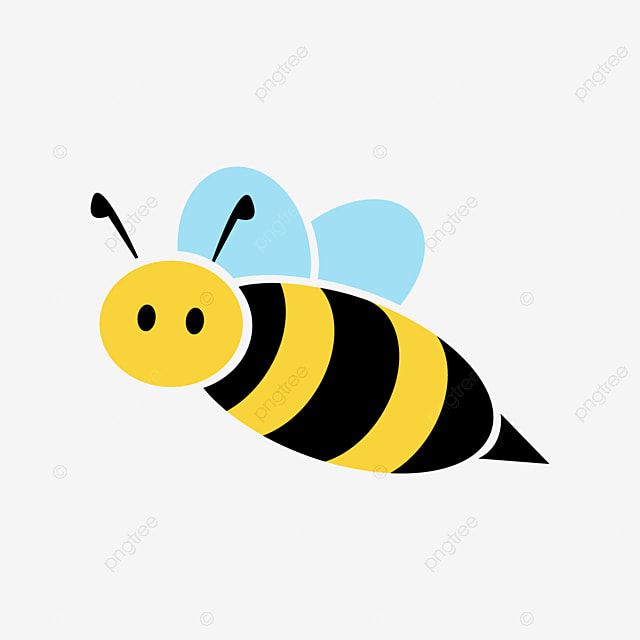 Cute Honey Bee Cartoon Png Bee Png Black And White Bee Silhouette Png Queen Bee Png Png And Vector With Transparent Background For Free Download
