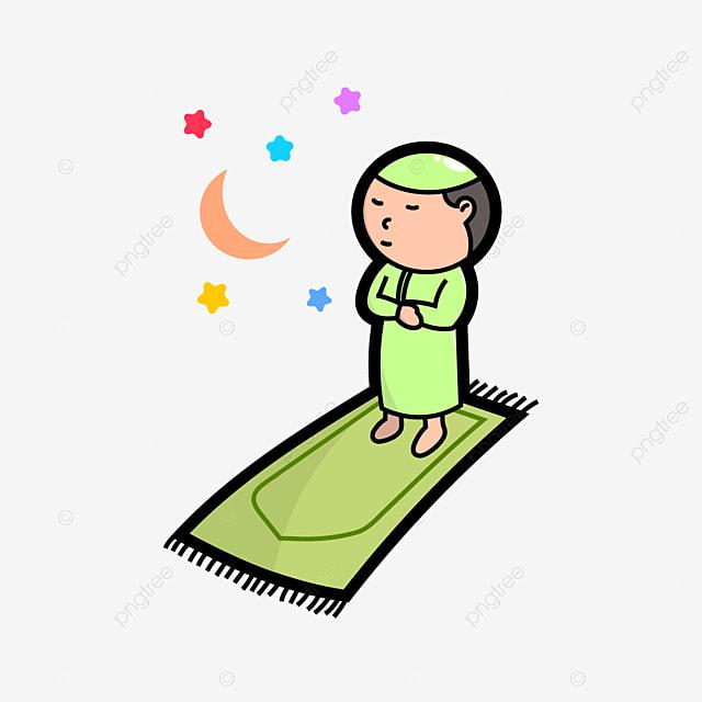 Gambar Animasi Anak Muslim Pergi Sholat Gambar Bocah Imut Sedang Sholat Idul Adha Gambar Kartun Print Art Quran Karakter Tradisional Png Dan Vektor Dengan Latar Belakang Transparan Untuk Unduh Gratis