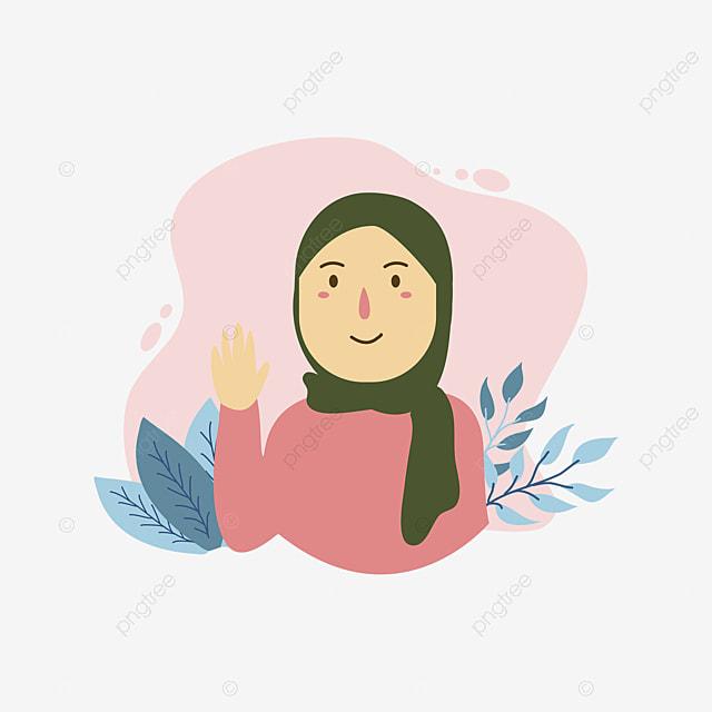Gambar Kartun Wanita Muslimah Tersenyum Yyvv4uwjbkusgm