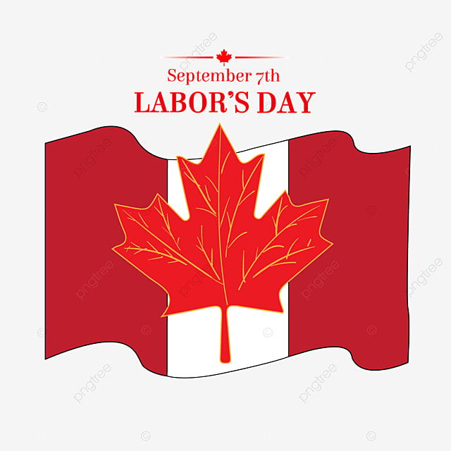 Canada Labor Day Maple Leaf Elements Red Maple Leaf Element Png And Vector With Transparent Background For Free Download