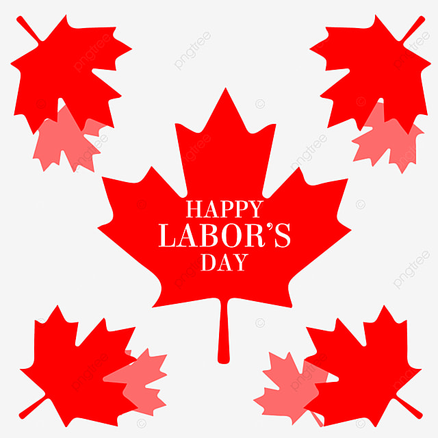 Red Maple Leaf Element Labor Day Canada Festival Flag Colors Canada Png And Vector With Transparent Background For Free Download