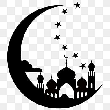 pngtree muslim ramadan festival silhouette png image 2317602