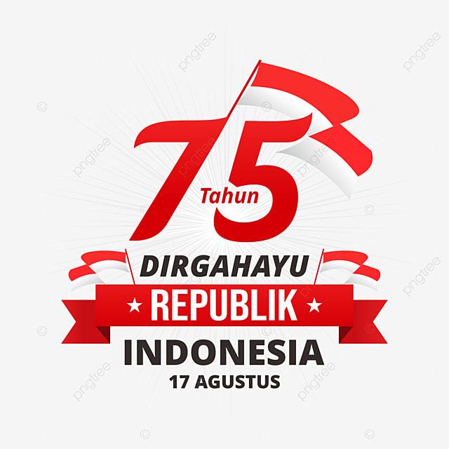 Gambar Vektor Sepanduk Dirgahayu Indonesia 17 Hari Agustus 75 Ri 2020 Dirgahayu Indonesia Png Dan Vektor Untuk Muat Turun Percuma