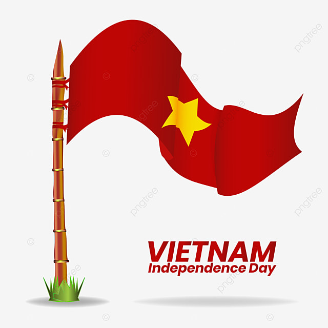 Independence Day Of Vietnam Flag Transparent Gradient Color Vector Vietnam Independence Flag Png And Vector With Transparent Background For Free Download