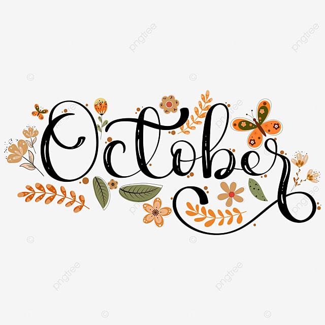 Download 'Hello October' Lovingly Created Cut File Design