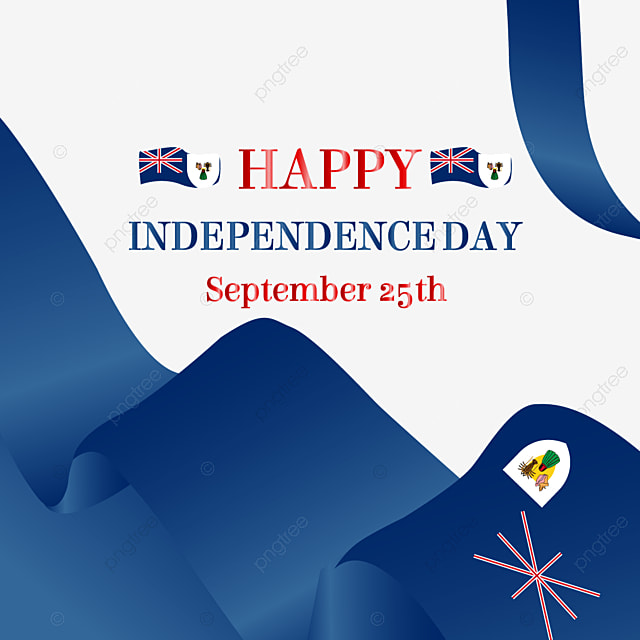 blue ribbon texture turks and caicos independence day