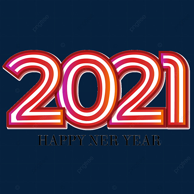 2021 gradient color creative art word