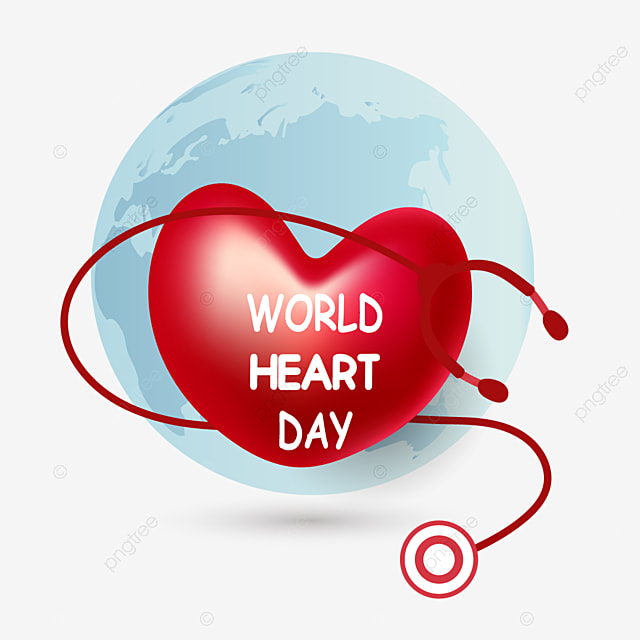 cartoon earth red love heart world heart day