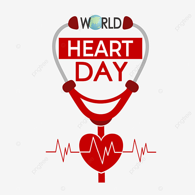red is pretty neat world heart day
