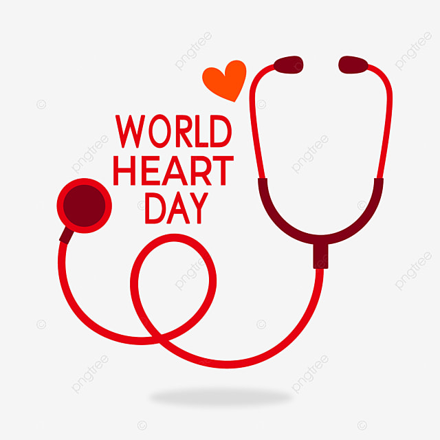 red love stethoscope world heart day