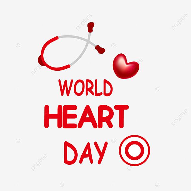 red silk heartbeat world heart day
