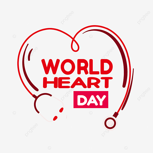 world heart day love stethoscope