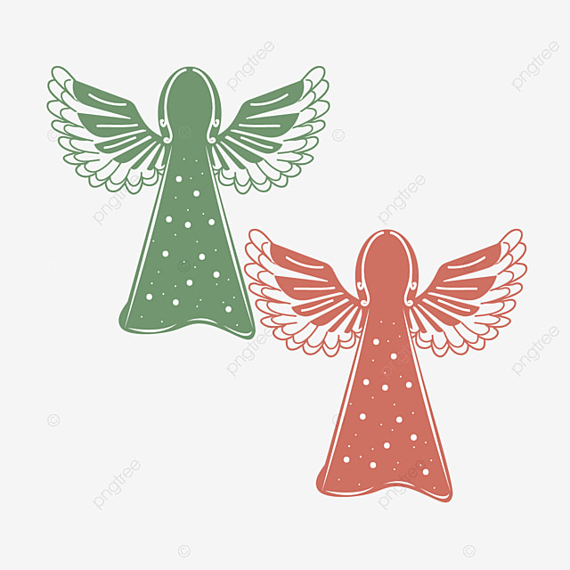 Svg Cute Angel Element Svg Fairy Angel Png And Vector With Transparent Background For Free Download