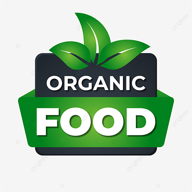 Realistic Organic Food Labels Vegetarian Realistic Quality Png And Vector With Transparent Background For Free Download