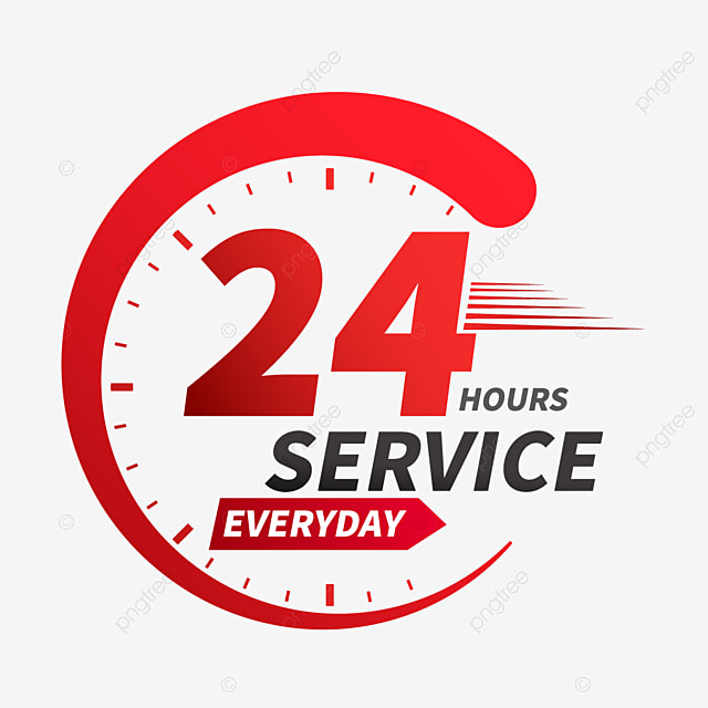 24 hour clock delivery service