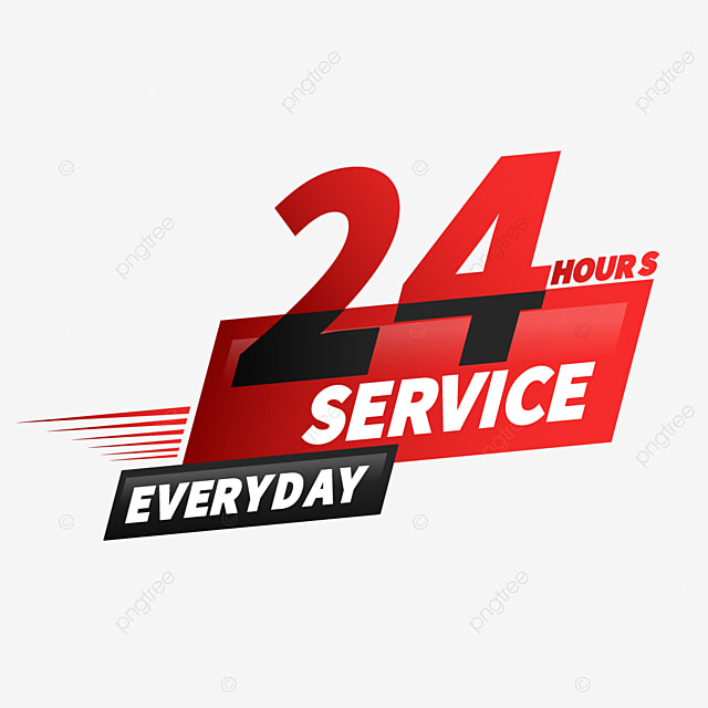 24 hours delivery service creative graphics