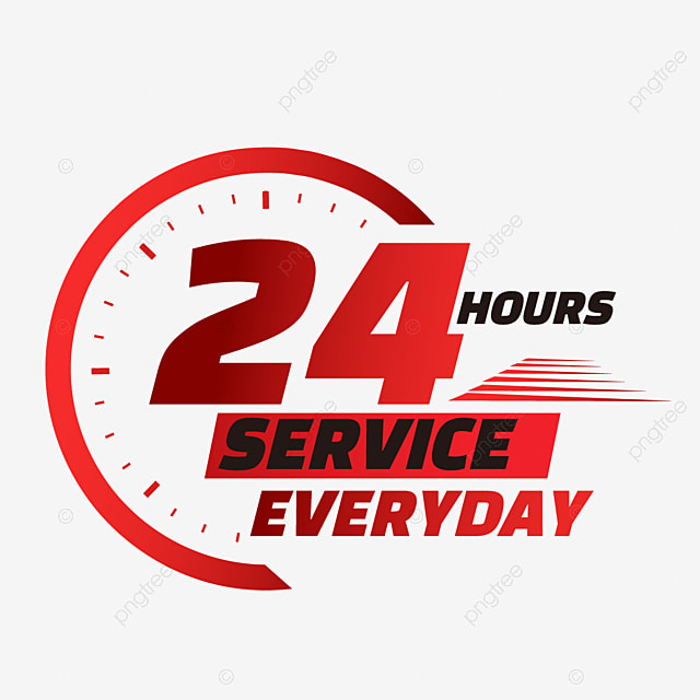 24 hours delivery service time